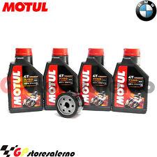 KIT TAGLIANDO OLIO + FILTRO MOTUL 7100 10W60 BMW 1300 K GT SE 2010