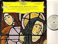 LPM 18 829 PROMO JOCHUM/STADER/HELLMANN/BORG bruckner mass no 3 dgg LP PS EX/VG