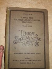 Union Special Large Arm Flat Bed Multi Needle Machines 16100 Free Shipping
