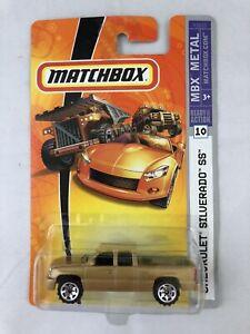 Matchbox Chevrolet Silverado SS MBX Metal Ready For Action #10, SEE DESCRIPTION