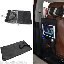 Black Car Back Seat Tablet Organizer Ipad Case Sleeve Pouch Holder Storage Bag