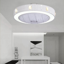 Ceiling Fan With Light Kit Remote Control LED Ceiling Lamp Bedroom Livingroom