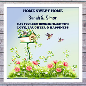 .. PERSONALISED NEW HOME HOUSE WARMING CARDS