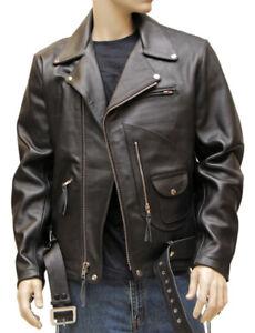 Terminator (Arnold Schwarzenegger) Leather Jacket by Magnoli Clothiers