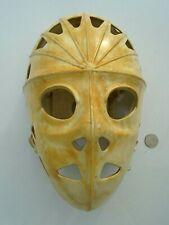 1970's Mylec- Street Hockey White Goalie Mask