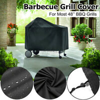 "US 48""X47"" BBQ Barbecue Gas Grill Cover Waterproof Heavy Duty Outdoor Dust Proof"