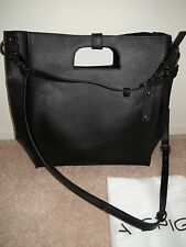 Via Spiga Black Petra Leather Large Tote Purse New SOLD OUT IN STORES
