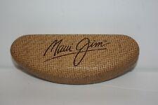MAUI JIM Woven Faux Bamboo Sunglasses Hard Shell Clamshell Glasses Case