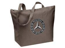 orig Mercedes Benz Shopper Tasche einkaufen Einkaufstasche Beutel groß braun NEU
