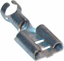 NON INSULATED TERMINALS PUSH ON FEMALES 6.3MM PACK OF 200