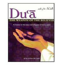 DUA THE WEAPON OF THE BELIEVER BY YASIR QADHI ISLAMIC MUSLIM BOOK GIFT IDEAS