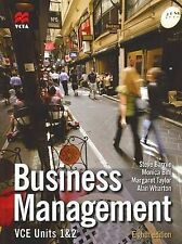 Business Management VCE Units 1 and 2 by Alan Wharton, Margaret Taylor, Steve...