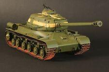 Construido y pintado Soviético Tanque de la segunda guerra mundial escala 1/35 JS-2