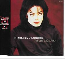 LOW START Michael Jackson You Are Not Alone Frankie Knuckles mixes UK CD Single