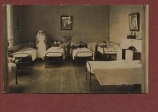 Sheffield. Hospital ward nurse children in beds  RP photograph postcard   qh.333