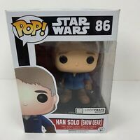 FUNKO POP!!! Star Wars Han Solo (Snow Gear) #86 Exclusive Vinyl Figure