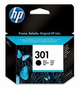 Genuine HP 301 Black Original Ink Printer Cartridge