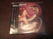 WHITESNAKE RARE LOVEHUNTER  LIMITED EDITION JAPAN REPLICA OBI CD BONUS TRACKS