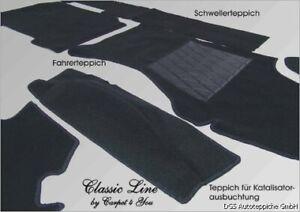 black carpet kit for Audi Quattro Urquattro 10V