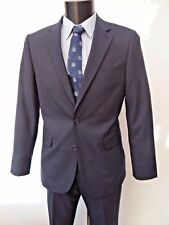 Jaeger Navy Blue Classic-fit Suit Sz UK 38r Regular