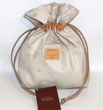 Prima Classe borsa mano pochette beige classico Alviero Martini sacca
