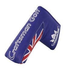 Golf Blade Putter Cover Headcover For Odyssey Taylormade Scotty Cameron UK Flag