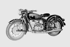 BMW R50S 500cc introduction campaign R 50 S new Model Year 1960 motorcycle photo