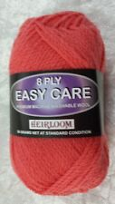 Heirloom Easy Care 8 Ply #704 Watermelon 50g