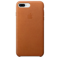 Sattelbraun Apple Echt Original Leder Schutz Hülle Leather Case iPhone 8/7 Plus