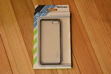 NEW  iPhone 5/5s Durable Black & Clear Bumper Plastic Phone Case