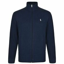 Ralph Lauren Men's Regular Cotton Zip Neck Jumpers & Cardigans