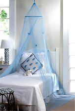 BLUE BUTTERFLY BED CANOPY ** NIB
