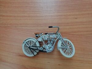 1/24 FRANKLIN MINT CLASSIC 1907 FIRST EVER HARLEY DAVIDSON MOTORCYCLE BIKE