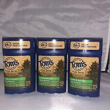 ( 3 PACK ) TOM'S OF MAINE FOR MEN DEODORANT NORTH WOODS