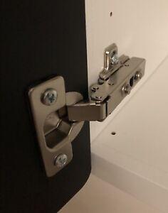 Scharniere Set neu (passend für Besta - IKEA) mit 2 Scharniere und 8 Schrauben