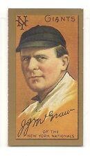 1911 T205 Gold Border Reprint - John McGraw - New York Giants