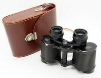 Vintage Carl Zeiss Jena 8x30 Deltrintem IQ Binoculars in Case (1969) #2794MS
