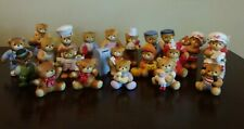 Vintage - Lucy & Me - Lucy Riggs - Enesco Teddy Bear Figurines - Lot of 21 - A7