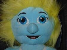"""Build a bear the Smurfs SMURFETT smurf plush soft toy 17"""" rare BAB avec tag"""