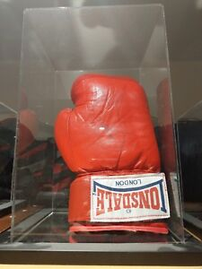 Joe Calzaghe Signed Boxing Glove With Acrylic Display Case