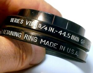 44.5mm to 54mm step up ring Adapter series 7 VII Filter Holder w/ retaining ring