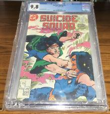 DC COMICS SUICIDE SQUAD #12 CGC GRADED 9.8