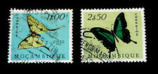 1953 Mozambique stamps with Butterflies /  Used