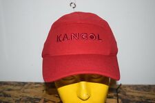 NWT Kangol FlexFit Stretch OSFM Baseball Golf cao1474 Poly red Hat Cap 68438