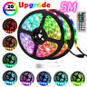 Durable 5M 16.4ft 300 LED RGB 3528 SMD Strip Light Flexible 12V+Remote Party Bar
