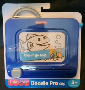 Fisher-Price DoodlePro, Clip-on BLUE (AB2-4)