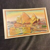 Vintage Postcard - Sydney Opera House - Unused