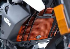 R&G RADIATOR GUARD IN ORANGE FOR A KTM 125 / 200 '11- *CLEARANCE SAVE £5*