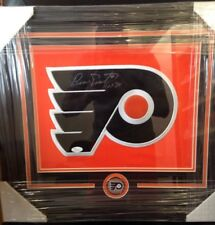 Bernie Parent Philadelphia Flyers Logo 11x14 Framed- JSA