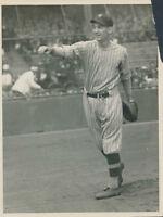1924 Muddy Ruel, Washington Senators, Original Type 1, Charles Conlon Photo